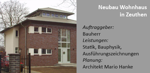 Neubau Villa am See in Zeuthen